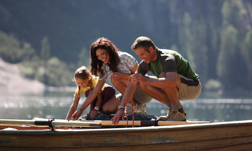 (Water) sports for children and adults in South Tyrol